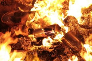 Advantages of Recycling and the effects of incinerating