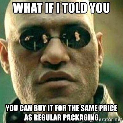 Eco Friendly Packaging Meme