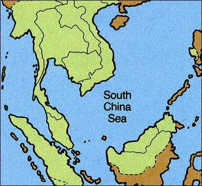 Map Southeast Asia, Where Teak comes from