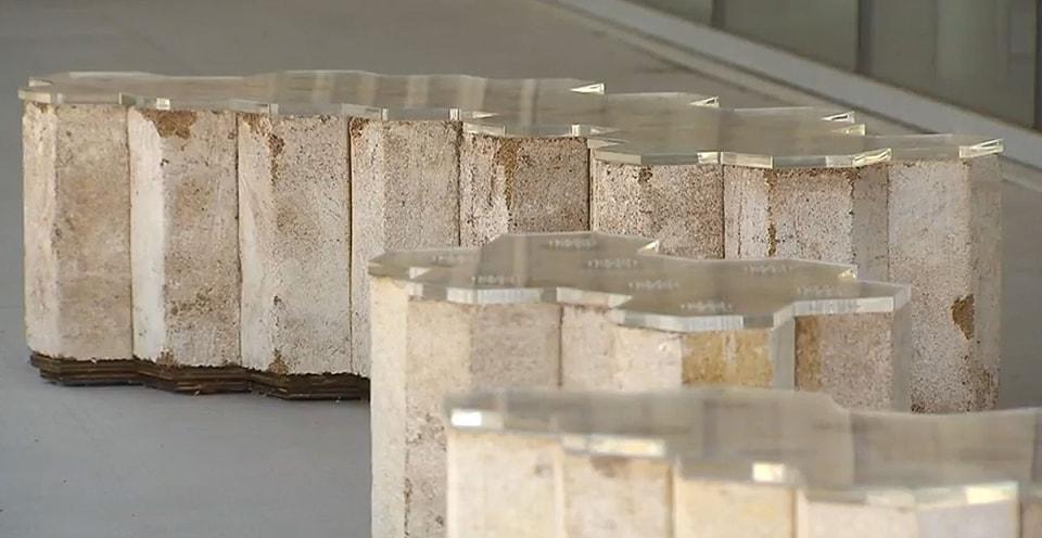Facts about concrete, mycelium bricks