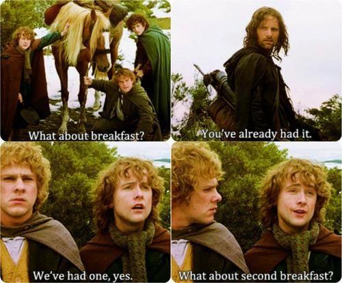 second breakfast, meal plan