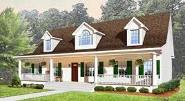 Cape Cod Style Modular Home