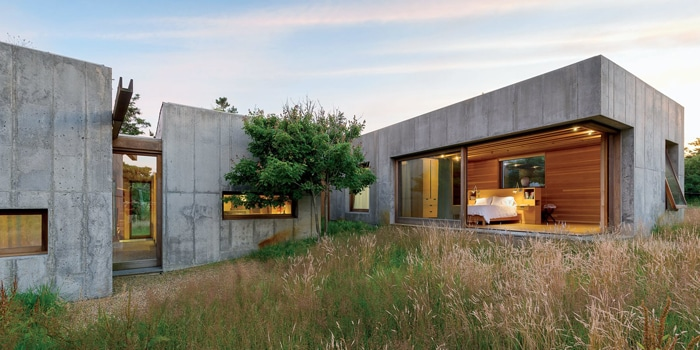 Concrete modular homes