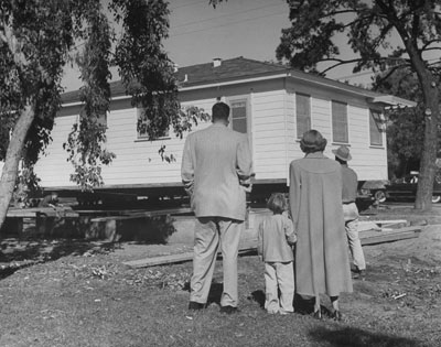 Modular home history, first model