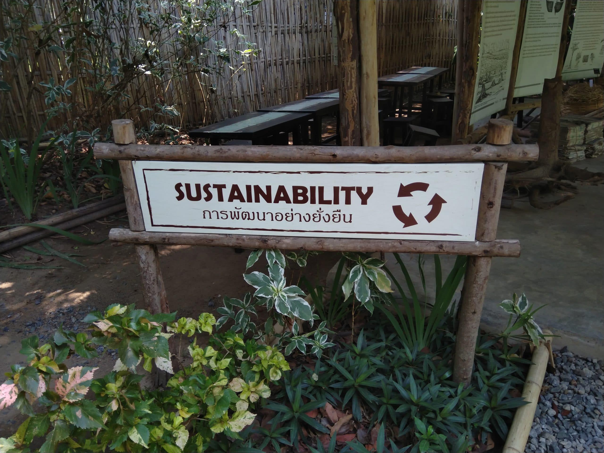 Sustainability Sign