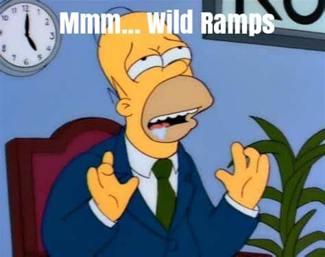 Delicious Wild Ramps homer Simpson
