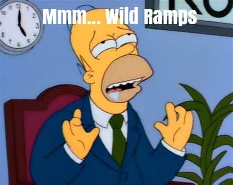 Delicious Wild Ramps homer Simpson