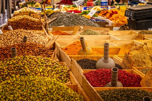 Spices-market-Forest-product