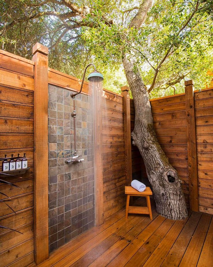 Off-Grid-Essentials-Wooden-Outdoor-Shower