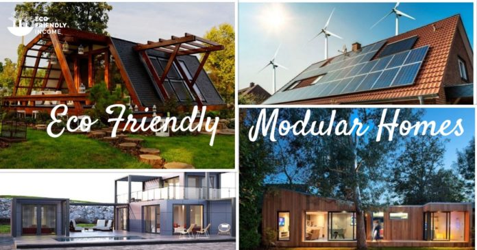 Collage Eco Friendly Modular Homes